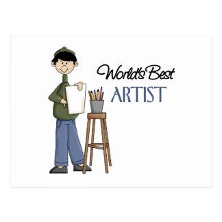 Artist Gift Postcard