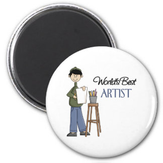 Artist Gift Refrigerator Magnet