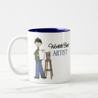 Artist Gift Two-Tone Coffee Mug