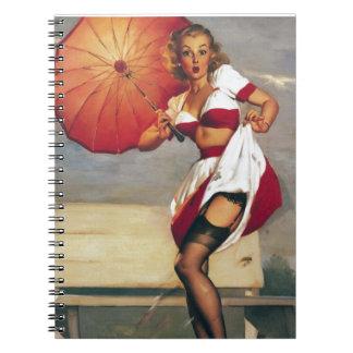Artist Gil Elvgren Notebook