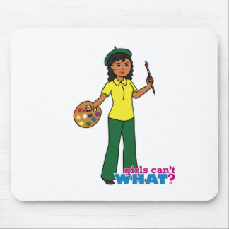 Artist-girl 3 mouse pad
