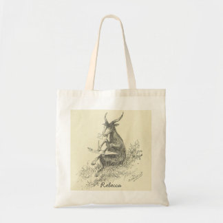 Artist Goat Tote Bag