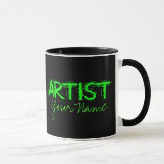 Artist Green Mug