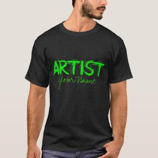Artist Green T-Shirt
