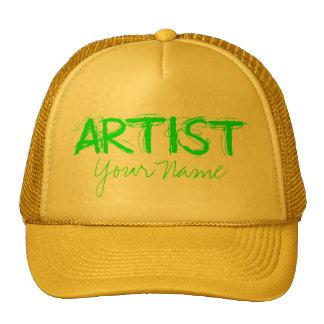 Artist Green Trucker Hat
