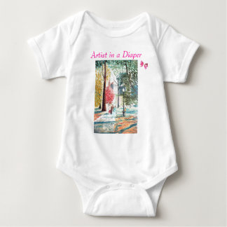 Artist in a Diaper, Mothers Day T-shirt