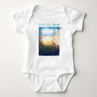 Artist in a Diaper, Waters Edge T-shirt