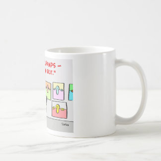 artist in a rut classic white coffee mug