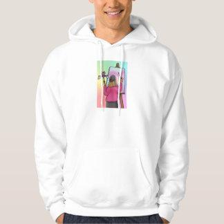 Artist inspiration hooded pullover