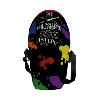 Artist Inspiration Messenger Bag