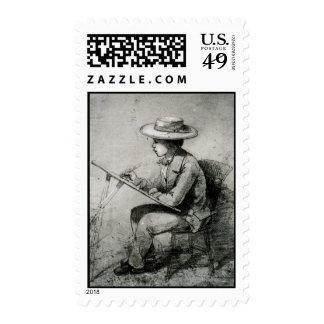 Artist John Ross Key, Nephew of Francis Scott Key Postage Stamp