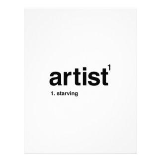 artist letterhead
