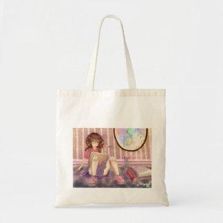 Artist make art tote bag