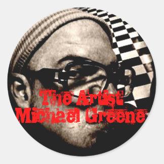 Artist Michael Greene Stickers
