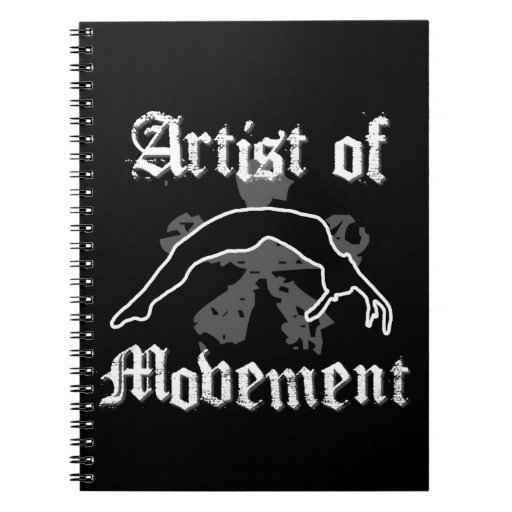 Artist of movement tumbling journal