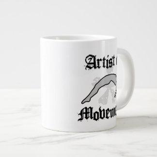 Artist of movement tumbling large coffee mug