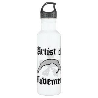 Artist of movement tumbling water bottle