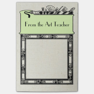 Artist or Art Teacher Message Post-it Notes