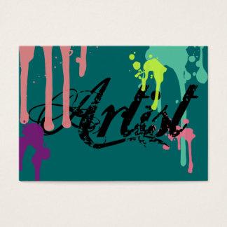 Artist Paint Slotches Business Cards