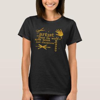 artist - paint the world T-Shirt