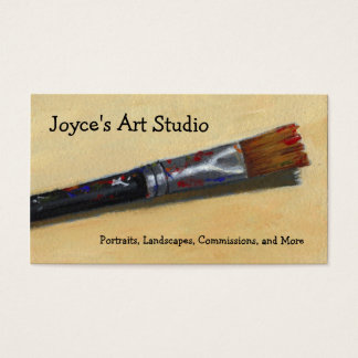 ARTIST PAINTBRUSH: BUSINESS CARDS