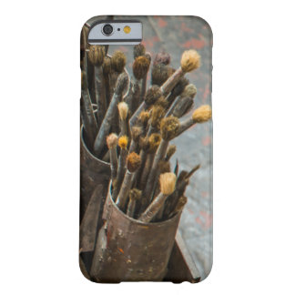 Artist Paintbrushes in Old Rusty Tin Cans Barely There iPhone 6 Case