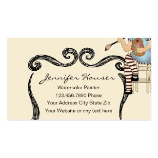 Artist Painter Business Cards
