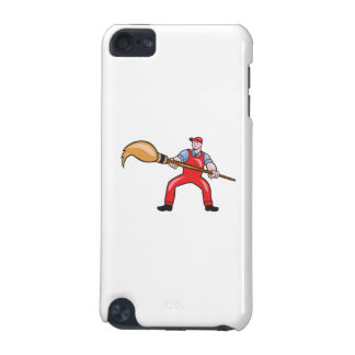 Artist Painter Standing Giant Paintbrush Cartoon iPod Touch 5G Case