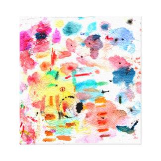 Artist Palette Canvas