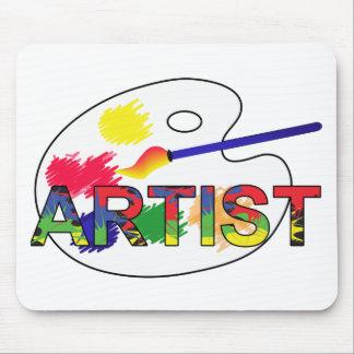 Artist Pallet Mouse Pad