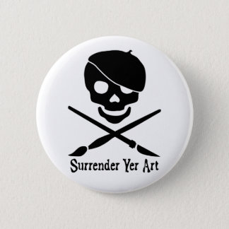 Artist Pirate Button