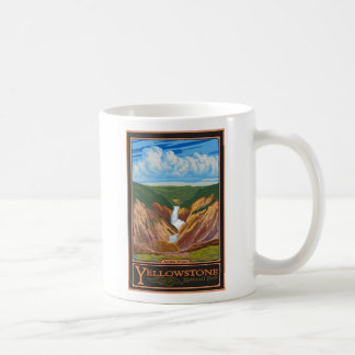 Artist Point - Yellowstone Nat'l Park Classic White Coffee Mug