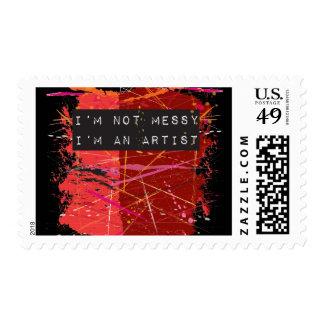 Artist Postage Stamp