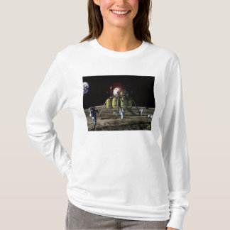 Artist rendition of a new spaceship to the moon 2 T-Shirt
