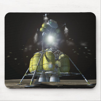 Artist rendition of a new spaceship to the moon 3 mouse pad