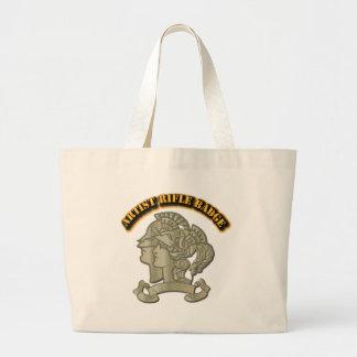 Artist Rifle Badge Large Tote Bag