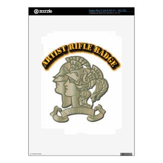 Artist Rifle Badge Skin For iPad 3