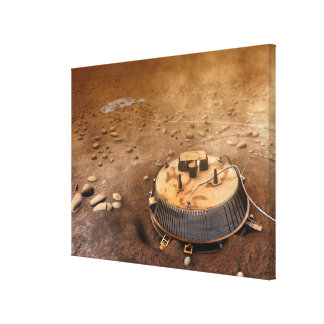 Artist s concept stretched canvas print