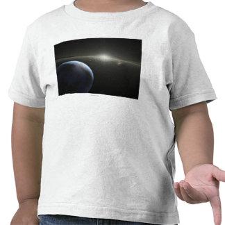 Artist s concept of an astroid belt Photograph Tees