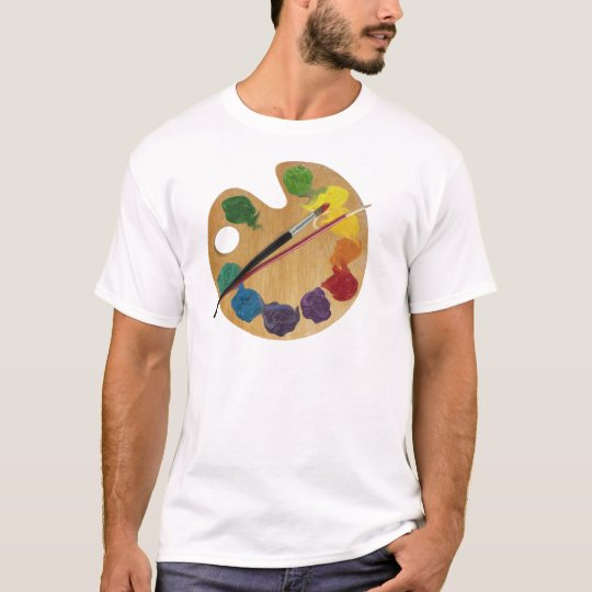 Artist`s palette color wheel T-Shirt