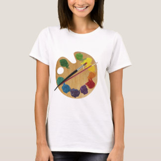 Artist`s palette color wheel T-Shirt