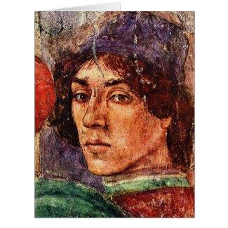Artist Self Portrait 1490 Card