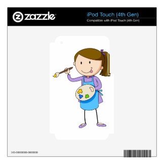 Artist iPod Touch 4G Decal