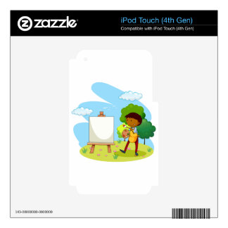 Artist Decal For iPod Touch 4G
