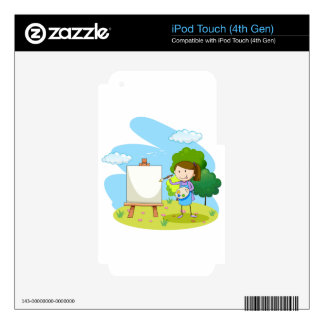 Artist Skins For iPod Touch 4G