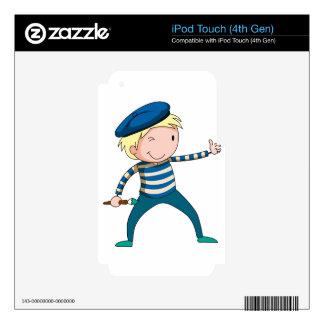 Artist iPod Touch 4G Skin