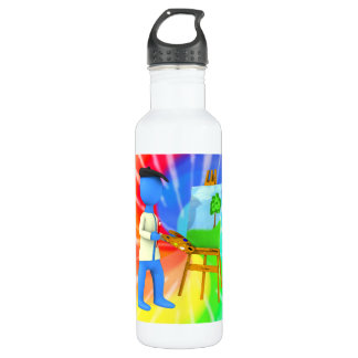 Artist Stainless Steel Water Bottle