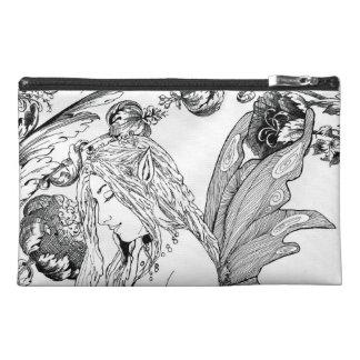 Artist Supplies Bag (travel bag) - Peony Fairy Travel Accessories Bags