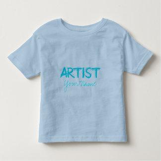 Artist Teal Toddler T-shirt