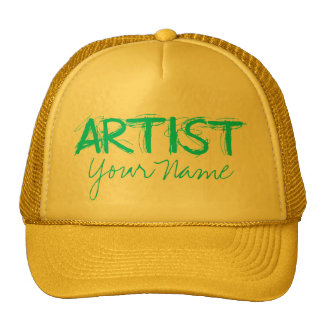 Artist Teal Trucker Hat